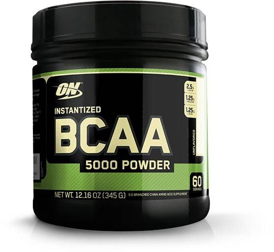 Instantized Bcaa 5000 Powder, Optimum Nutrition, Unflavored, 60 Servings