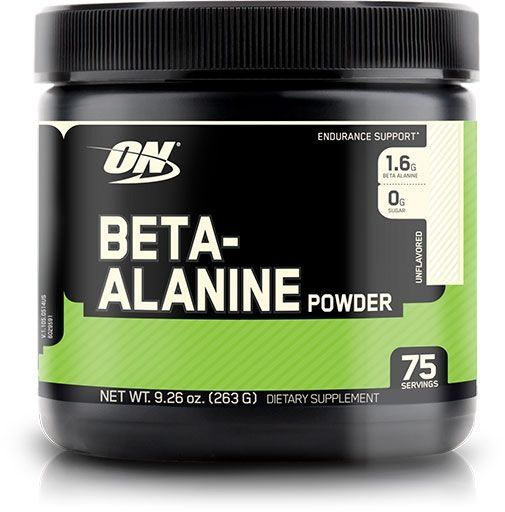 Beta-Alanine, Optimum Nutrition, Unflavored, 75 Servings