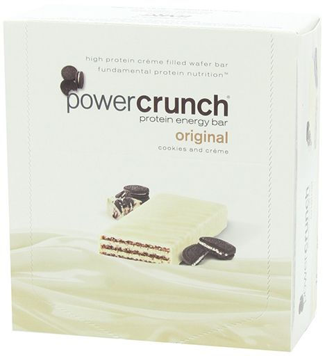 BNRG Power Crunch Cookies and Creme 12-1.4 oz Cookies