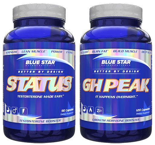 Blue Star Nutraceuticals, Muscle Building Stack