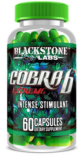 Cobra 6P Extreme, Weight Loss, by BlackStone Labs