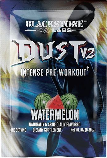 Dust V2 Pre Workout By Blackstone Labs, Watermelon, Sample Packet
