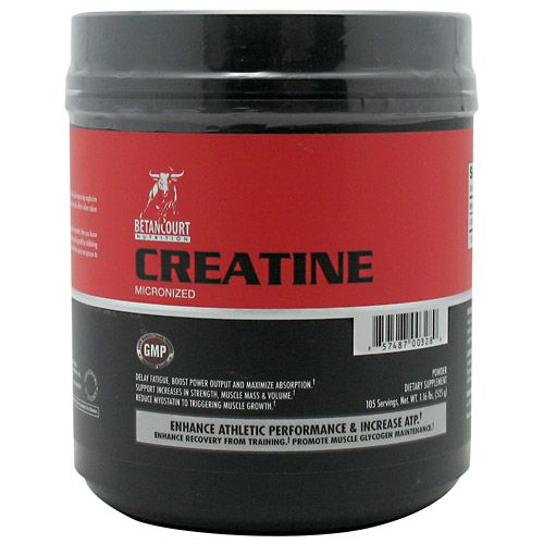 Betancourt Nutrition Creatine Micronized 525 Grams Front Bottle