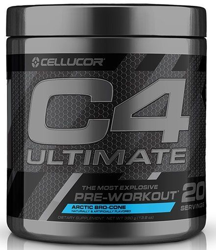 C4 Ultimate By Cellucor, Artic Bro-Cone, 20 Servings