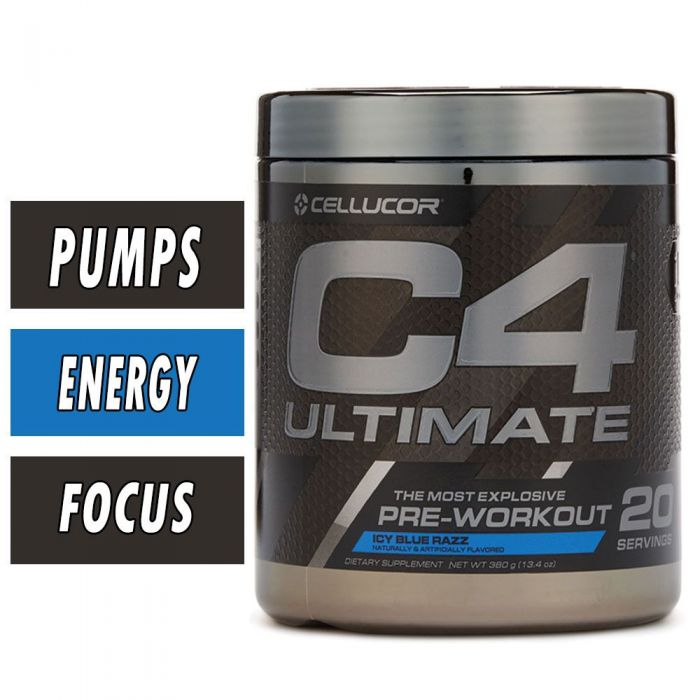Cellucor C4 Ultimate - Icy Blue Razz - 20 Servings