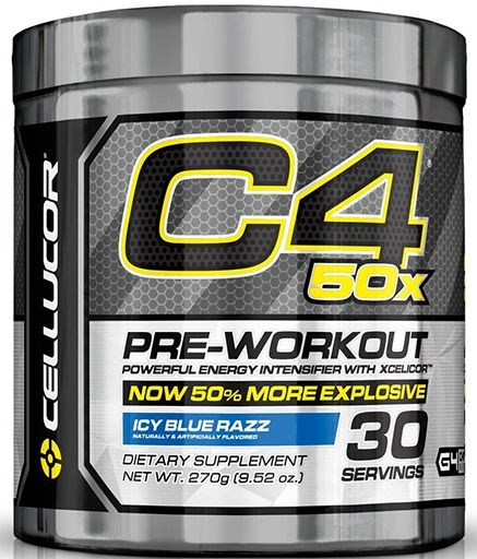 C4 50X By Cellucor, Pre Workout