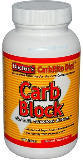 Doctor's CarbRite Carb Block by Universal Nutrition, 120 Tabs