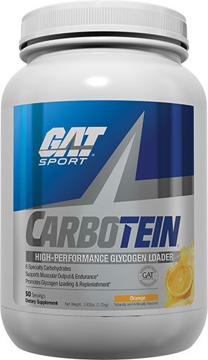 Carbotein By GAT, Orange 50 Servings