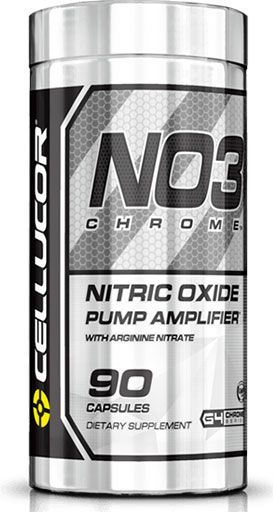 Cellucor NO3 Black Chrome 90 Caps Nitric Oxide Booster