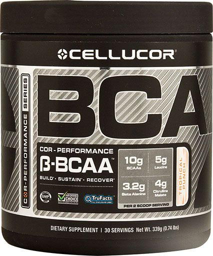 Cellucor, COR-Performance Series, BCAA, Tropical Punch 30 Serving