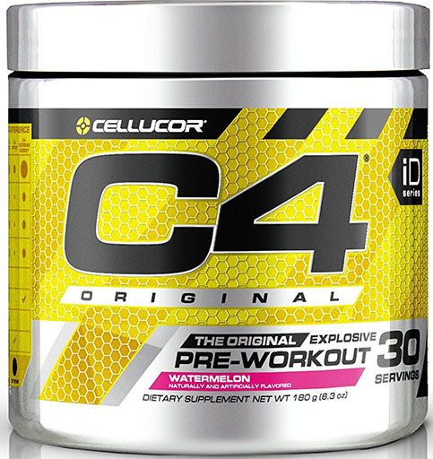 C4 By Cellucor, Original, Pre Workout