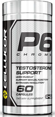 P6 Chrome, By Cellucor, 60 Caps, Images