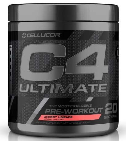 C4 Ultimate By Cellucor, Cherry Limeade, 20 Servings