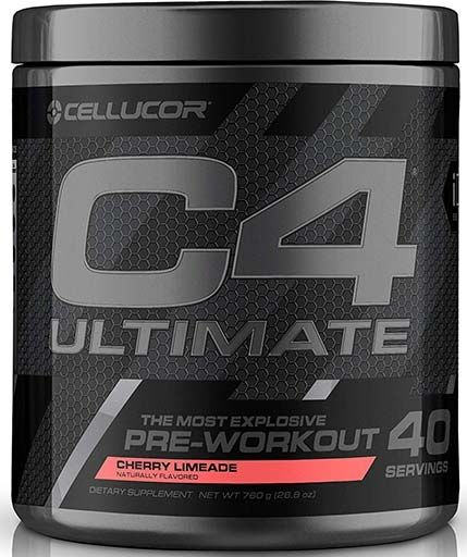 C4 Ultimate By Cellucor, Cherry Limeade, 40 Servings