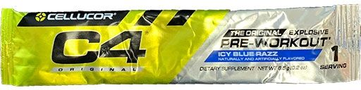 C4 By Cellucor, Original, Icy Blue Razz, Sample Packet
