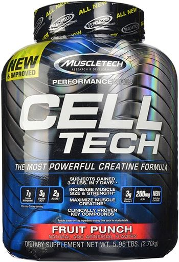 Cell-Tech By MuscleTech, Fruit Punch 6lb