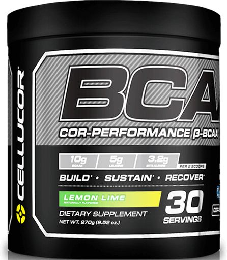 BCAA By Cellucor, COR-Performance Series, Lemon Lime 30 Servings