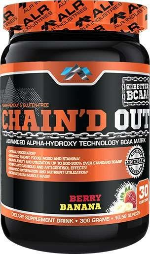 Chain'D Out By ALRI, Berry Banana, 30 Servings