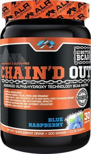 Chain'D Out By ALRI, Blue Raspberry, 30 Servings