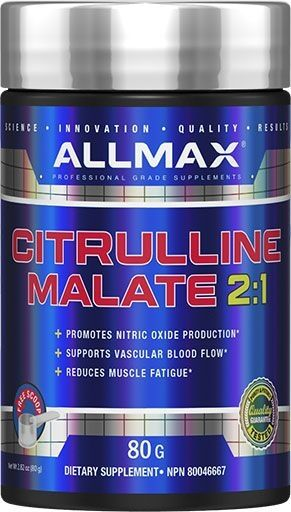 Allmax Citrulline Malate 80 Grams