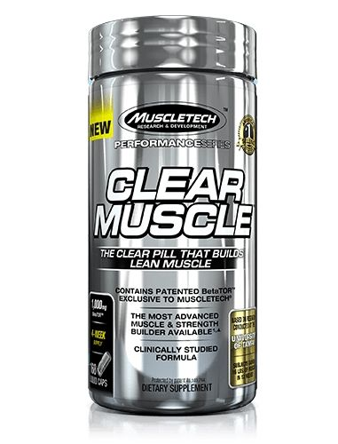 Clear Muscle By MuscleTech, 168 Caps