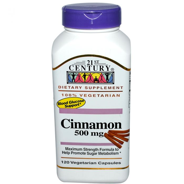 21st Century Cinnamon 500 mg 120 VCaps
