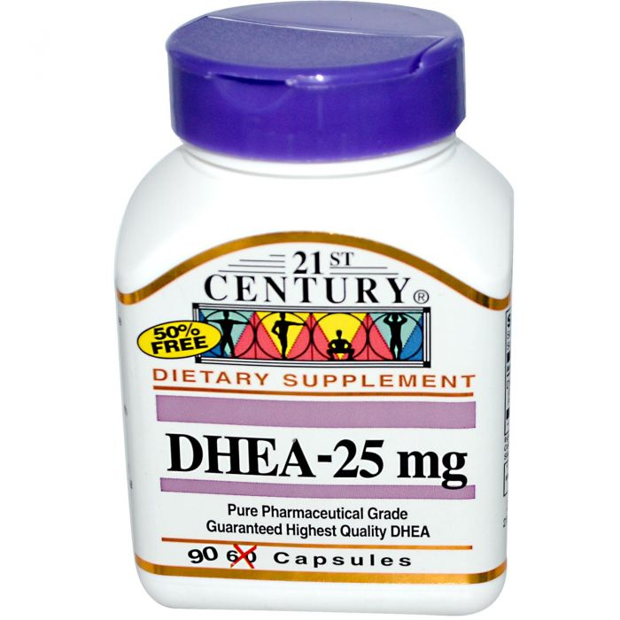 21st Century DHEA 25 mg 90 Caps