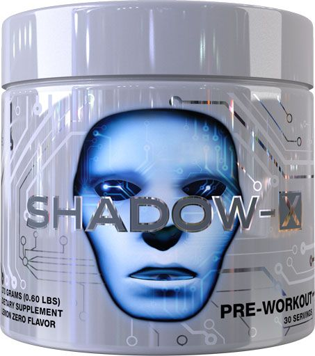 Shadow X Pre Workout, By Cobra Labs, Lemon Zero, 30 Servings