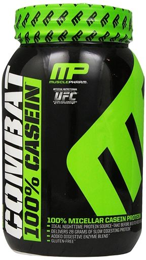 Combat Casein By Muscle Pharm, Chocolate Milk 2lb