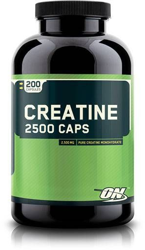 Creatine 2500, Optimum Nutrition, 200 Caps