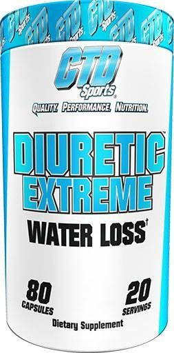 Diuretic Extreme, CTD Sports, 80 Caps