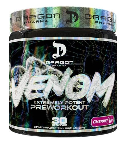 Venom Pre Workout By Dragon Pharma, Cherry Cola, 30 Servings