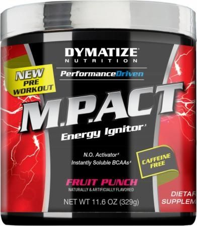 Dymatize Performance Driven M.P.ACT Caffeine Free Fruit Punch 30 Servings