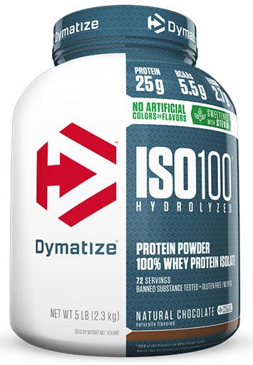 Dymatize ISO 100, Natural Chocolate, 5lb