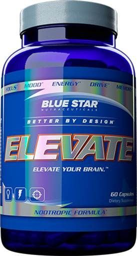 Elevate, Blue Star Nutraceuticals, 60 Caps