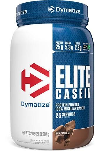 Elite Casein Protein By Dymatize Nutrition