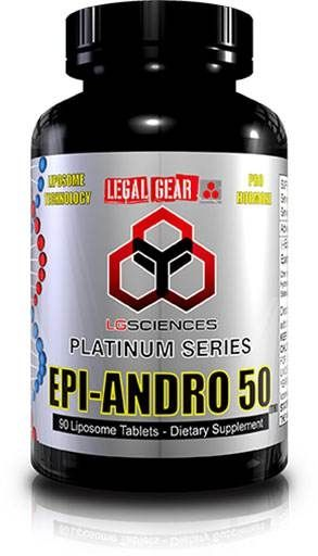 Epi Andro 50, By LG Sciences, 90 Tabs