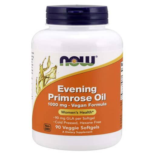 Evening Primrose Oil By NOW, 1000 mg , 90 Veggie Softgels