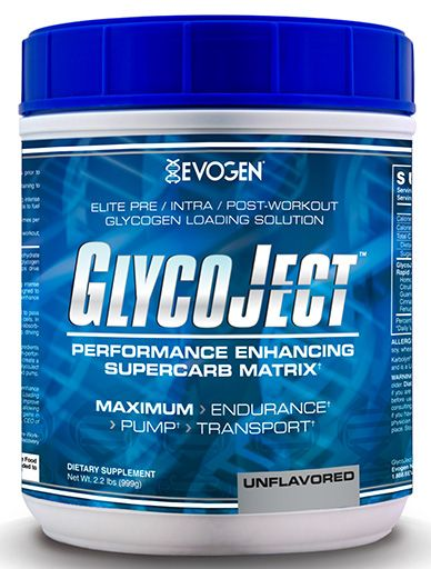 GlycoJect By Evogen, Unflavored, 2.2lb