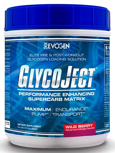 GlycoJect By Evogen, Wild Berry, 2.2lb
