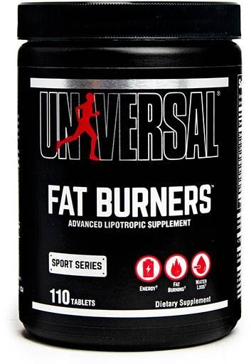 Fat Burners, Universal Nutrition, 110 Tabs