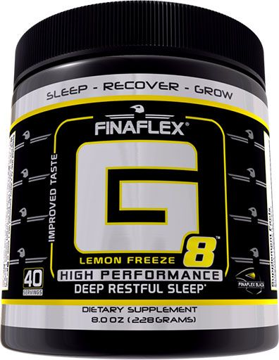 Finaflex G8 Lemon Freeze 20 Servings Mood Elevator Image