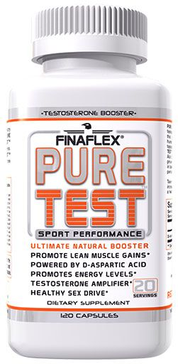 Pure Test By FinaFlex, Testosterone Matrix 180 Caps