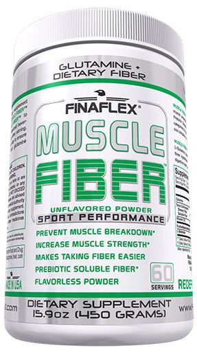 Muscle Fiber By Finaflex, Unflavored 60 Servings