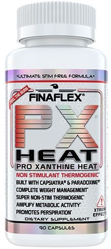 PX Heat By FinaFlex, 90 Caps