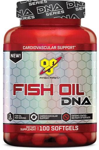 Fish Oil DNA by BSN, 100 Softgels