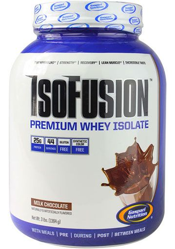 IsoFusion, By Gaspari Nutrition, Milk Chocolate, 3lb