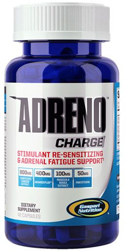 AdrenoCharge, By Gaspari Nutrition, 42 Caps Image