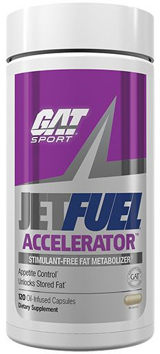 Jet Fuel Accelerator By GAT, 120 Caps