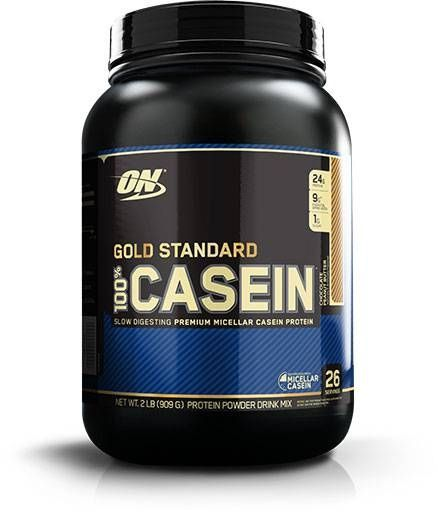 100% Casein, Optimum Nutrition, Chocolate Peanut Butter, 2lb